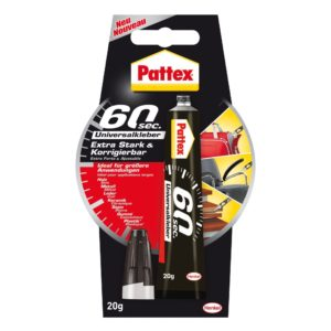 Pattex 60 sec Universalkleber Produktbild Blisterkarte