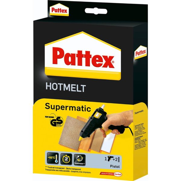Pattex Hotmelt Supermatic Produktbild Schachtel