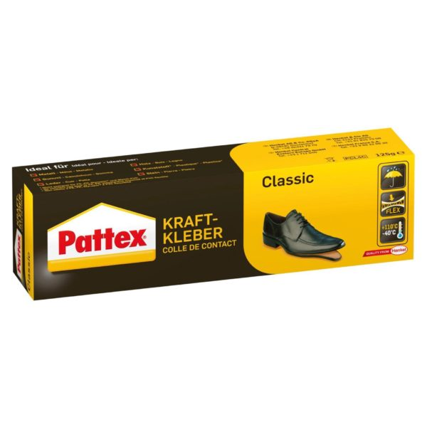 Pattex Kraftkleber Classic Produktbild Tube Karton