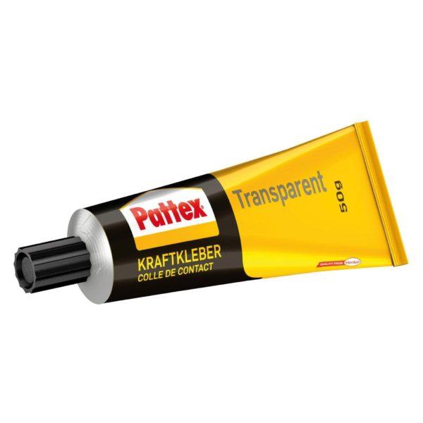 Pattex Kraftkleber Transparent Produktbild Tube
