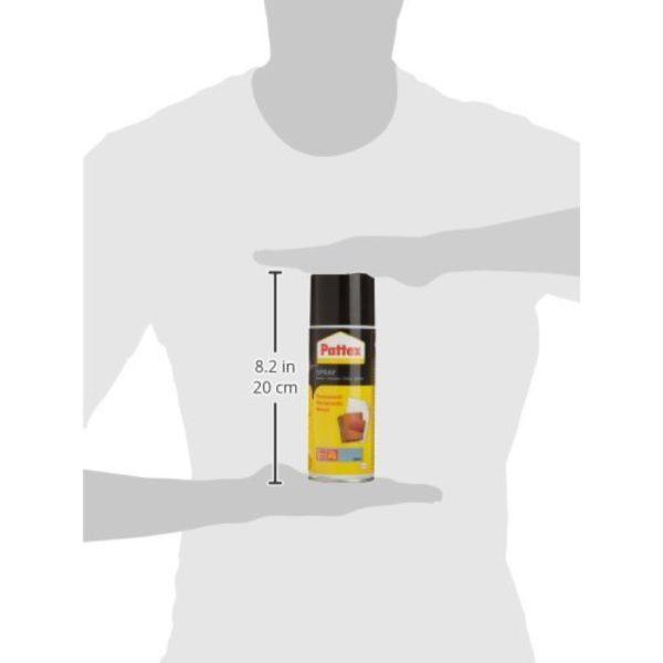 Pattex Power Spray Permanent Produktbild Dose Größe