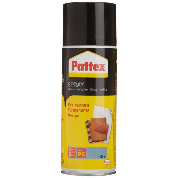 Pattex Power Spray Permanent Produktbild Dose Vorderseite
