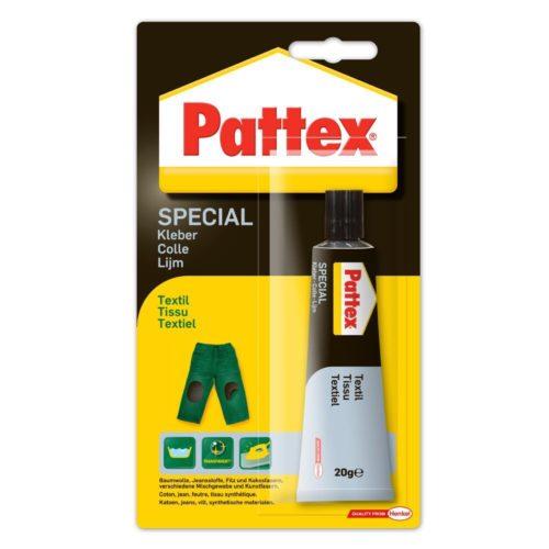 Pattex Special Textil Spezialkleber Produktbild Blisterkarte